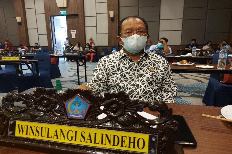Anggota DPRD Sulut dari Fraksi Golkar Winsulangi Salindeho