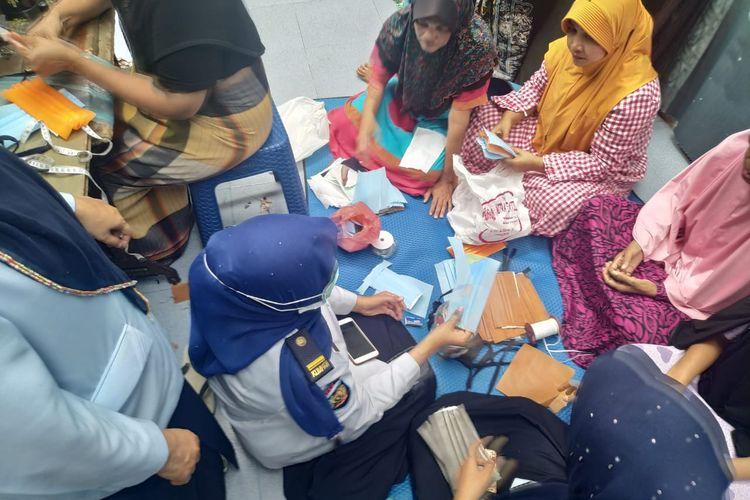Narapidana wanita di Lembaga Pemasyarakatan (Lapas) Kelas IIB Lhoksukon, Kabupaten Aceh Utara