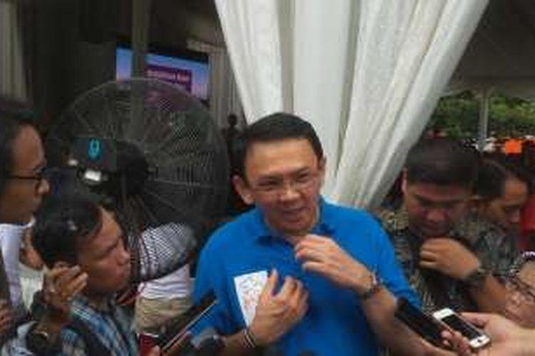 Gubernur DKI Jakarta Basuki Tjahaja Purnama di Balai Kota, Minggu (7/2/2016)