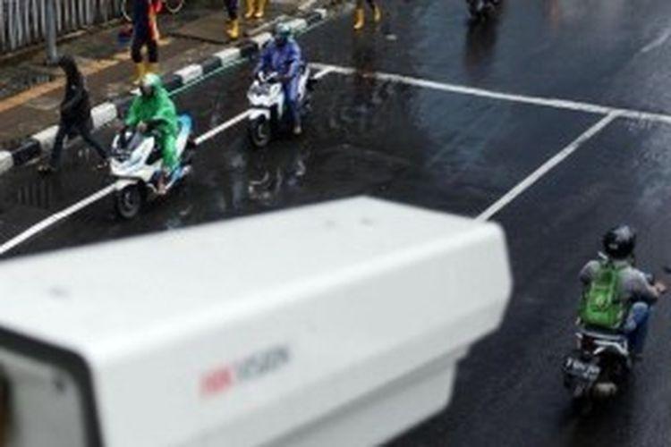 Ilustrasi kamera tilang elektronik
