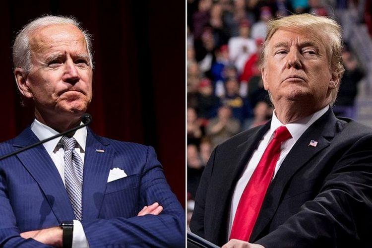 Joe Biden dan Donald Trump