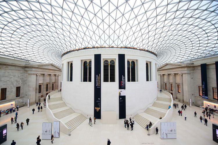 British Museum berdiri pada 1753, mempunyai 8 juta koleksi seni, (22/10/2013).