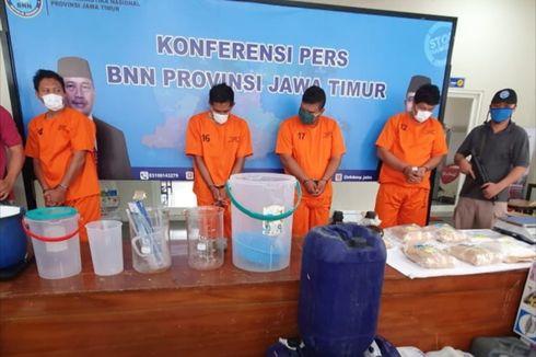 Sindikat Narkoba Jerat Pemain Bola dan Wasit, BNN Gerebek Pabrik Sabu di Semarang