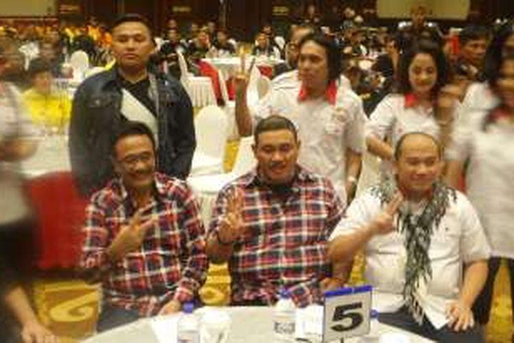 Sejumlah Pekerja Seni Deklarasikan Dukungan untuk Ahok-Djarot, Selasa (22/11/2016)