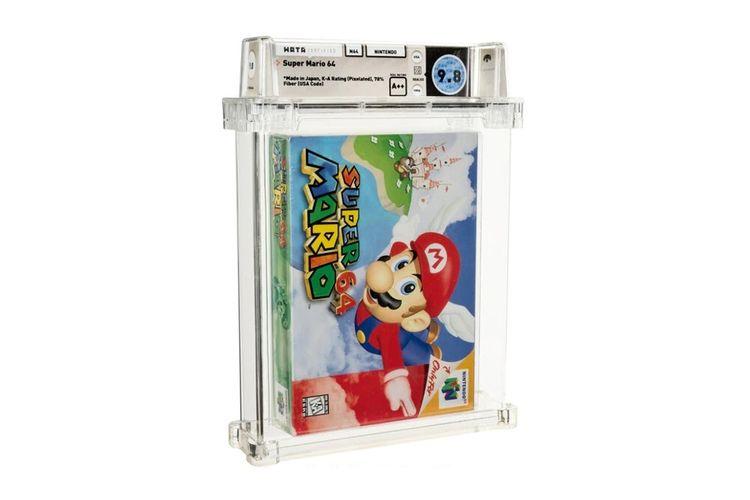 Ilustrasi game Super Mario 64 yang dijual lebih dari Rp 20 miliar.