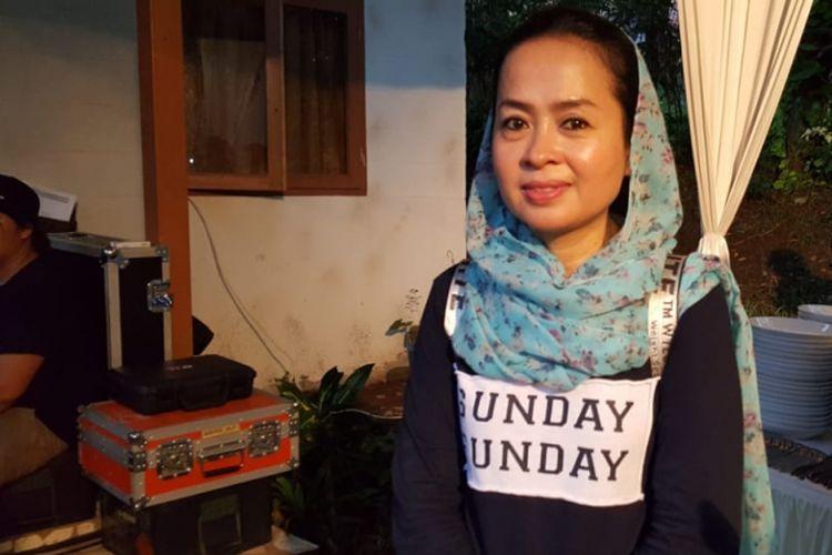 Maryati yang dulu dikenal sebagai pemeran karakter Munaroh dalam serial sinetron Si Doel Anak Betawi.