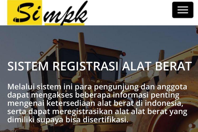 Sistem Informasi Material dan Peralatan Konstruksi (Si-MPK)