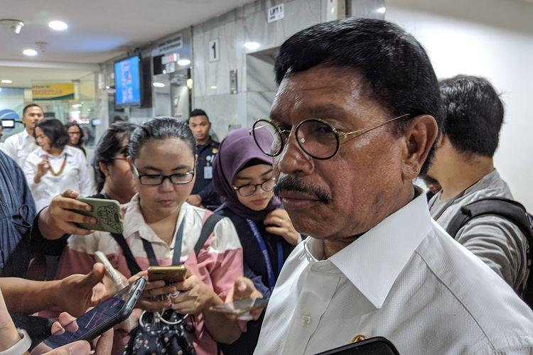 Menteri Komunikasi dan Informatika Kabinet Indonesia Maju, Johnny G. Plate.