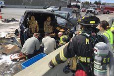 Setelah Mobil Otonomos Uber, Kini GIliran Tesla Kecelakaan Fatal