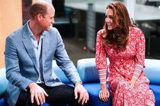 Kate Middleton Tampil Segar dalam Gaun Floral