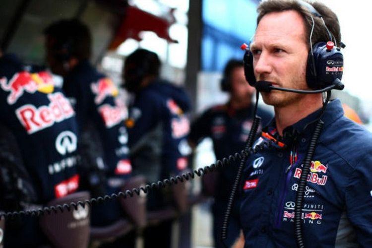 Bos tim Red Bull Racing, Christian Horner.