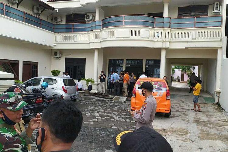 Suasana Hotel Mahkota, Kecamatan Jati, Kudus, Jateng, Senin (26/10/2020).