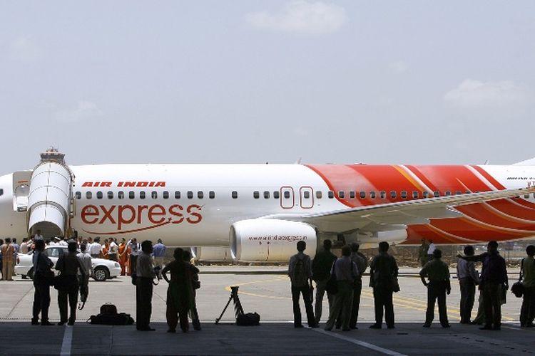 Pesawat Boeing 737-800 milik Air India Express.