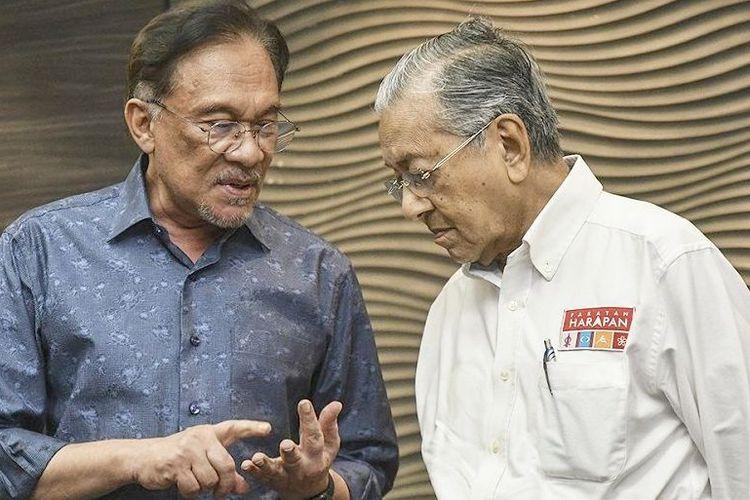 Anwar Ibrahim dan Mahathir Mohamad