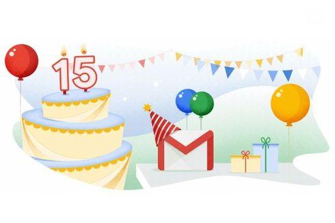 Ulang Tahun ke-15, Gmail Dapat