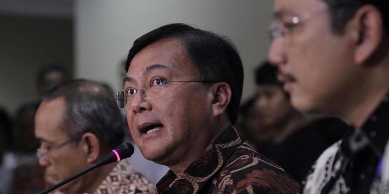 Ketua Tim Investigasi TGPF Intan Jaya Benny Mamoto.