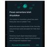 Cara Aktifkan 'Pesan Sementara' WhatsApp, 7 Hari Chat Hilang Otomatis
