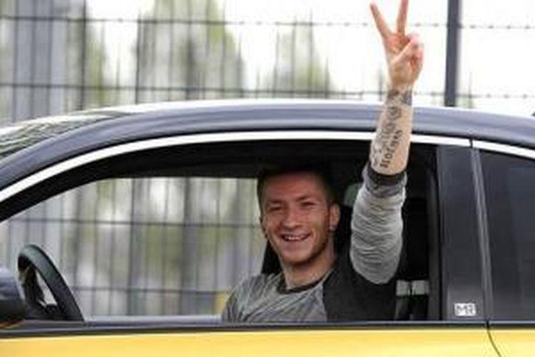 Marco Reus mengemudi tanpa SIM