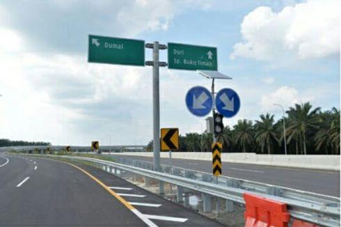 Innova Tabrak Truk di Tol Pekanbaru-Dumai, Satu Orang Tewas