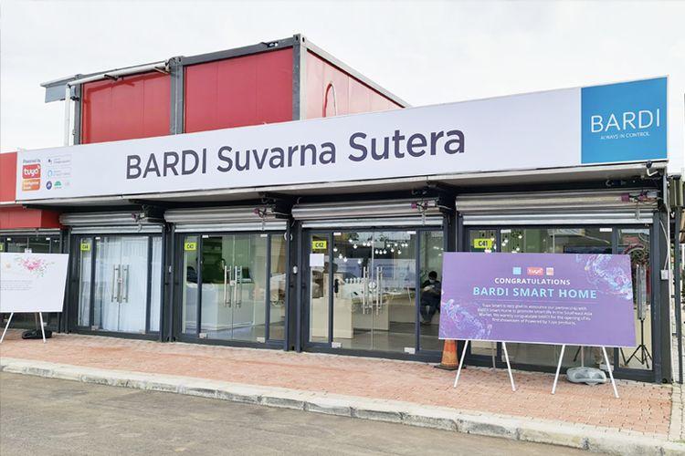 Showroom Bardi Smart Home di Suvarna Sutera, Cikupa, Banten