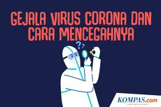 INFOGRAFIK: Gejala Virus Corona dan Cara Mencegahnya