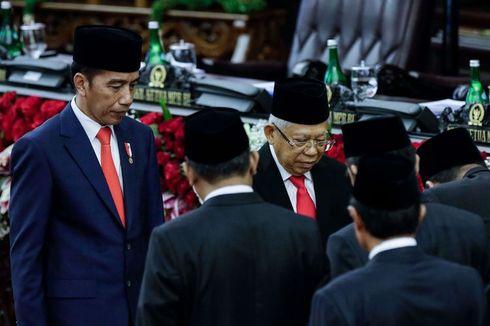 Tahun Ini Jokowi dan Ma'ruf Amin Dapat THR, Berapa Nominalnya?