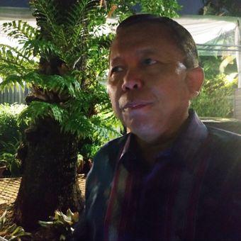 Anggota Komisi III Arsul Sani usai menghadiri syukuran menteri terpilih dari KAHMI di Kebayoran Baru, Jakarta Selatan, Kamis (21/11/2019) malam.