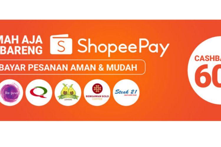 Kampanye Di Rumah Aja Bareng ShopeePay