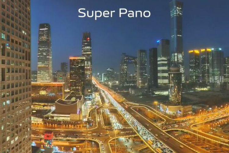 Fitur Super Pano di Vivo X60 Series.