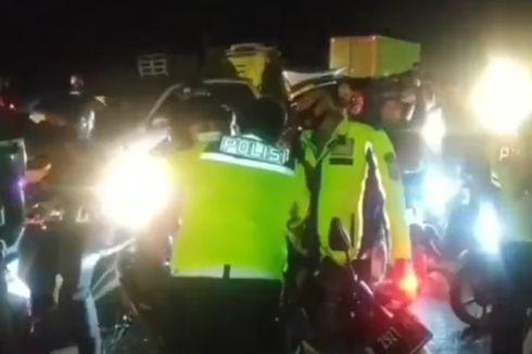 Viral, Video Pelukan Hangat Pak Polisi Mampu Luluhkan Pemudik yang Emosi, Ini Ceritanya