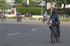 Wali Kota Tangerang Ingatkan Warganya agar Buka Pasang Masker Saat Bersepeda