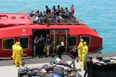 TNI AL Fasilitasi Evakuasi 188 WNI Kru Kapal World Dream