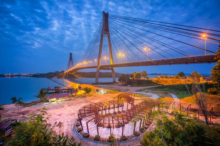 Barelang, jembatan ikonik di Batam.