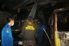 Bengkel Las di Banyumas Ludes Terbakar, Diduga Korsleting Kabel Aki Mobil Boks