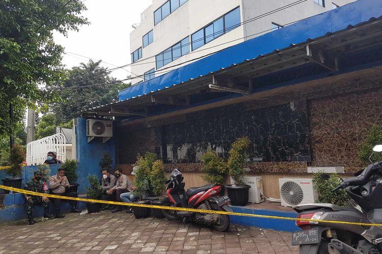 Suasana Kafe RM, TKP penembakkan tiga orang pada Kamis (25/2/2021).