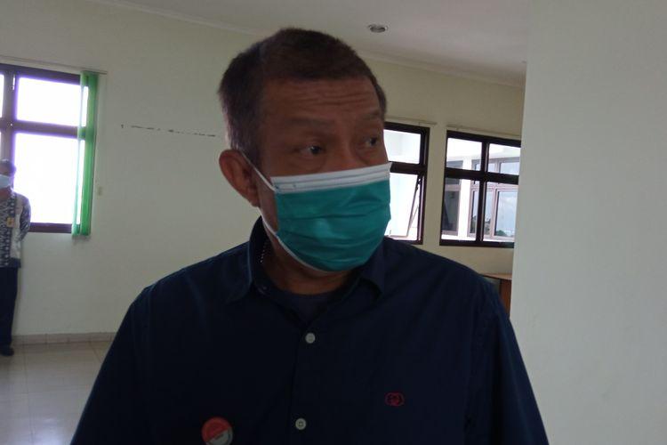 Wali Kota Yogyakarta Haryadi Suyuti saat ditemui di RS Pratama, Jumat (5/3/2021)