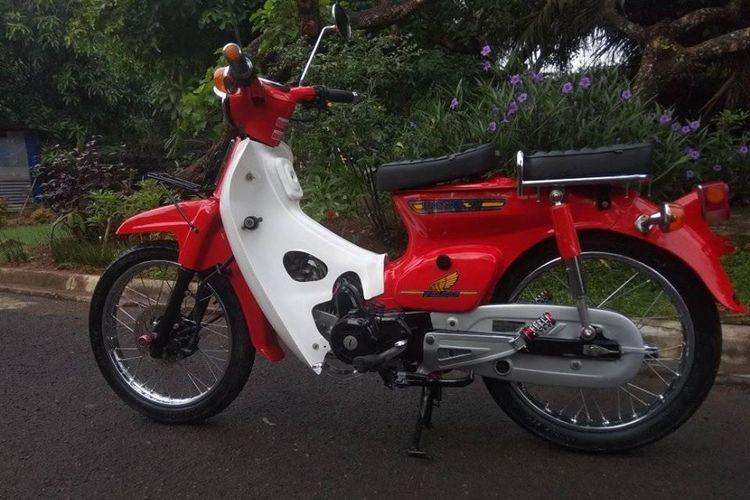 Honda Astrea modifikasi ala C70