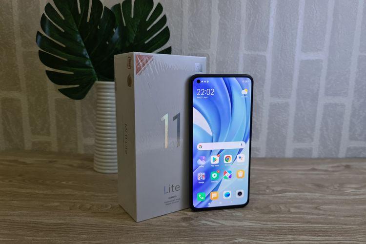 Xiaomi Mi 11 Lite.