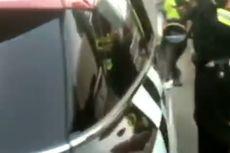 Polisi Berhentikan Mobil yang Buntuti Rangkaian Kendaraan Wapres Ma'ruf Amin