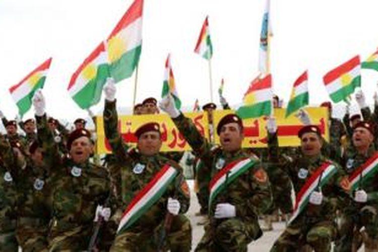 Peshmerga membentuk sebuah brigade Kristen untuk memerangi ISIS. Para rekrutan baru ini mendapat pelatihan militer di kota Fishkabur tak jauh dari perbatasan Suriah dan Turki.