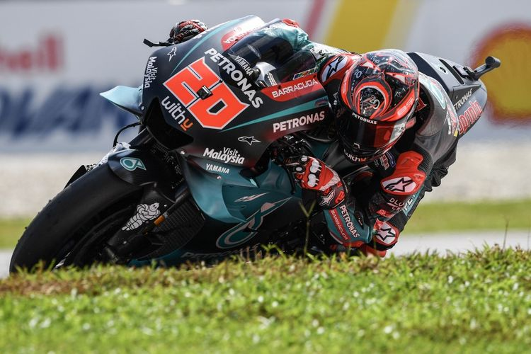 Fabio Quartararo, Rookie of the Year 2019. (Photo by Mohd RASFAN / AFP)