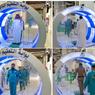 Cegah Corona, Arab Saudi Pasang Gerbang Sterilisasi di Pintu Masuk Masjidil Haram