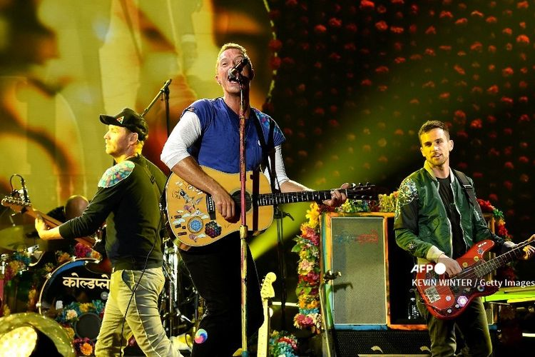 Coldplay ajak Jokowi gabung Global Citizen Live.