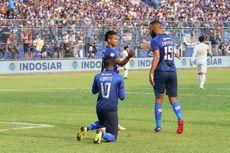 Arema FC Vs PSS Sleman, Singo Edan Taklukkan Super Elang Jawa