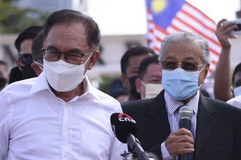 Mahathir Gabung Anwar Ibrahim Tuntut Muhyiddin Lengser dari Kursi PM Malaysia