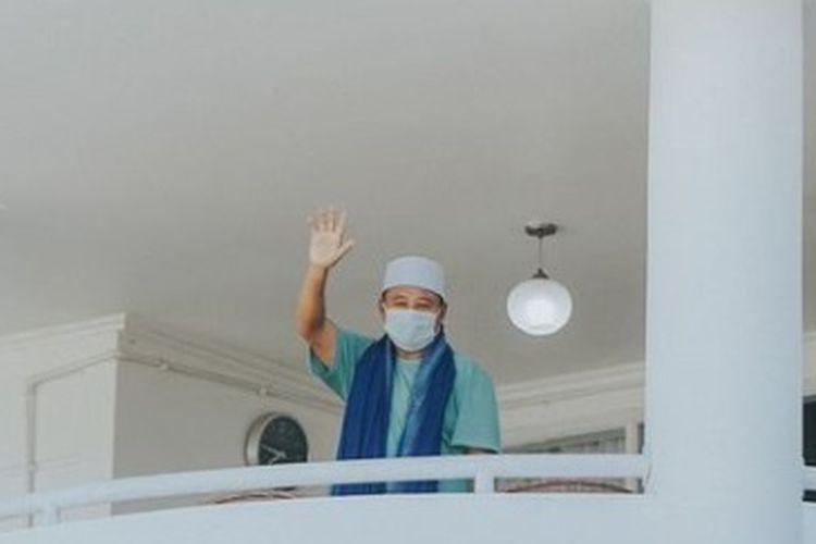 Wakil Gubernur Jawa Barat Uu Ruzhanul Ulum dinyatakan positif Covid-19.