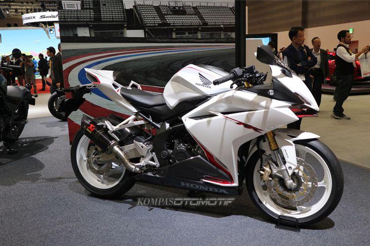 Honda CBR250RR Warna Putih di Tokyo Motor Show 2017