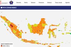 Update 14 Daerah Zona Merah dan 8 Zona Hijau Covid-19 di Indonesia