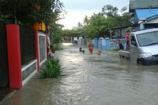 Tanggul Bekas Galian Tambang Jebol, Satu Kelurahan Terendam Banjir