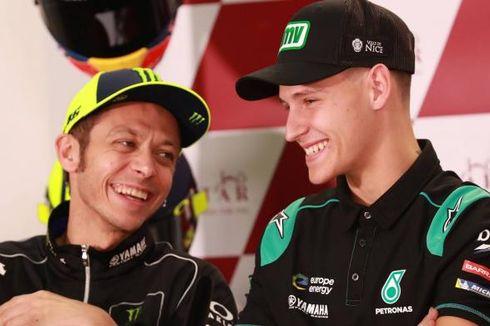 MotoGP, Rossi Ingin Belajar dari Quartararo